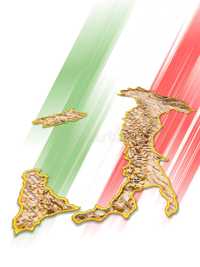 Italy royalty free illustration