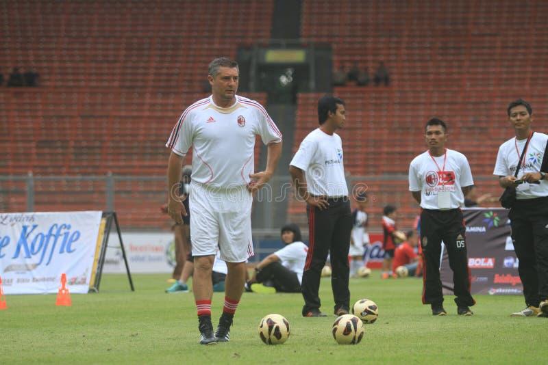 Download Italy And AC Milan Legend Daniele Massaro Editorial Image - Image: 32073720