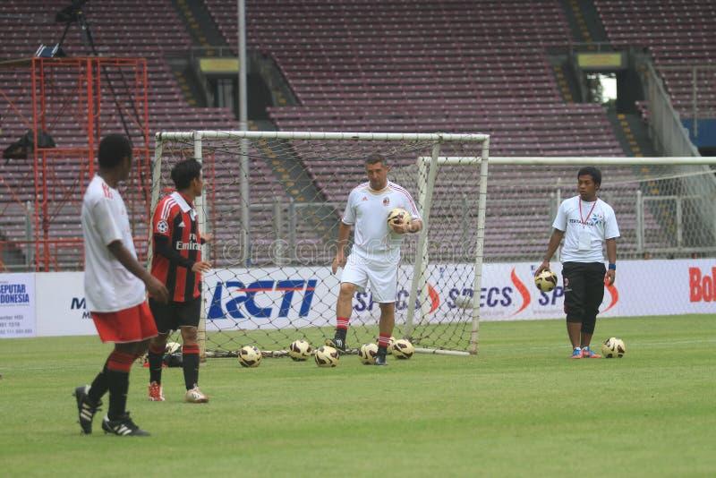 Italy and AC Milan Legend Daniele Massaro