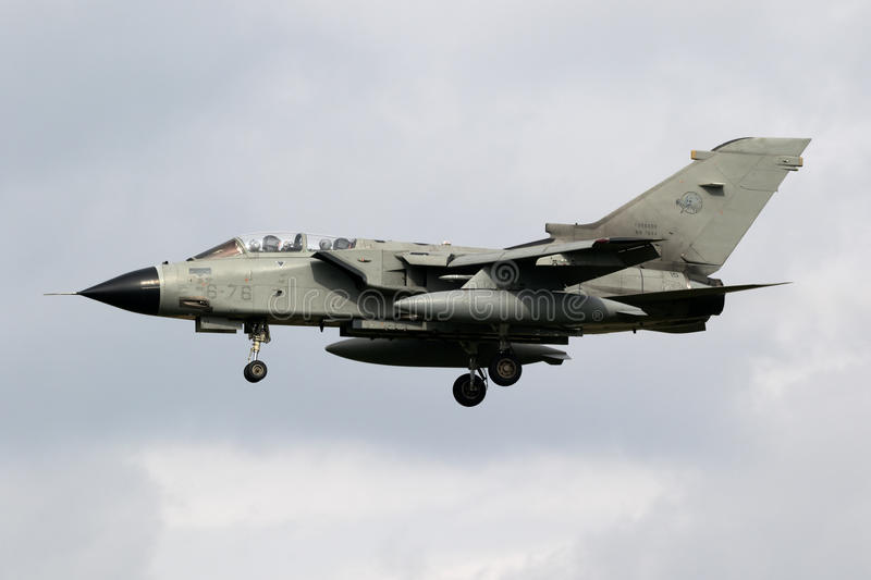 Italy Air Force Tornado bomber fighter jet plane stock images