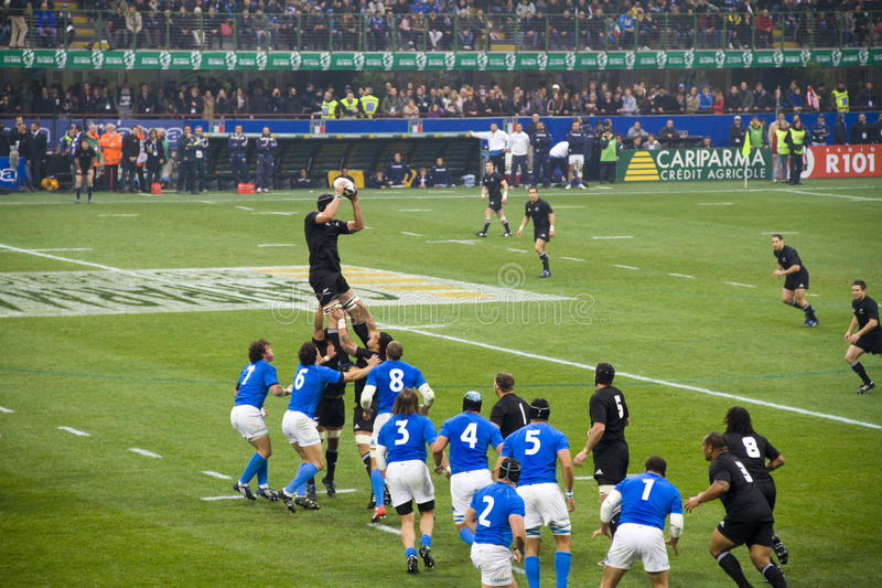 Download Italy - All Blacks editorial image. Image of heap, athletes - 11797410