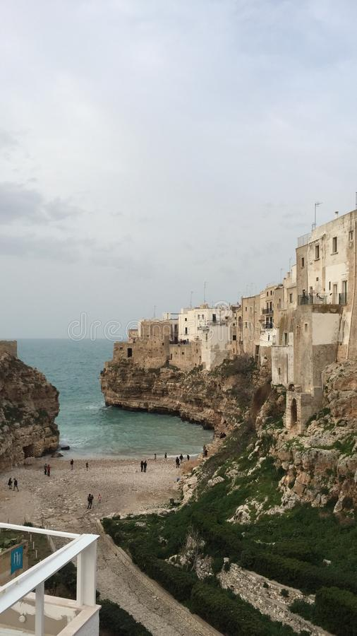 Polignano a Mare stock photos