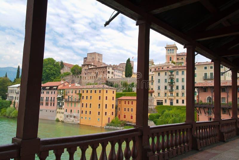 Italy, Bassano del Grappa imagens de stock
