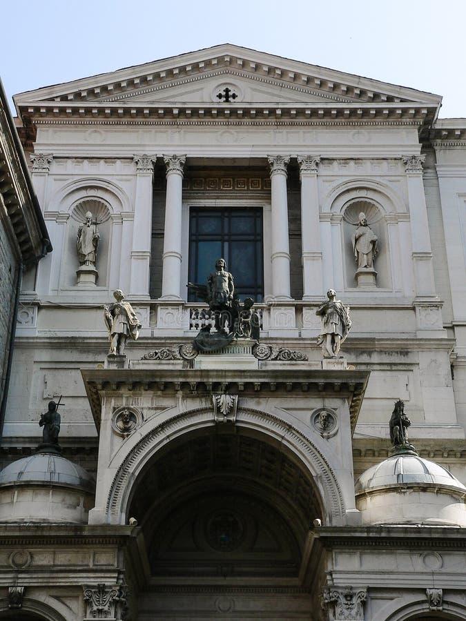 Italy. Bergamo Alta royalty free stock image