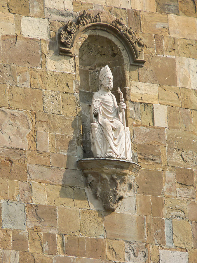Italy. Bergamo Alta. Church stock image