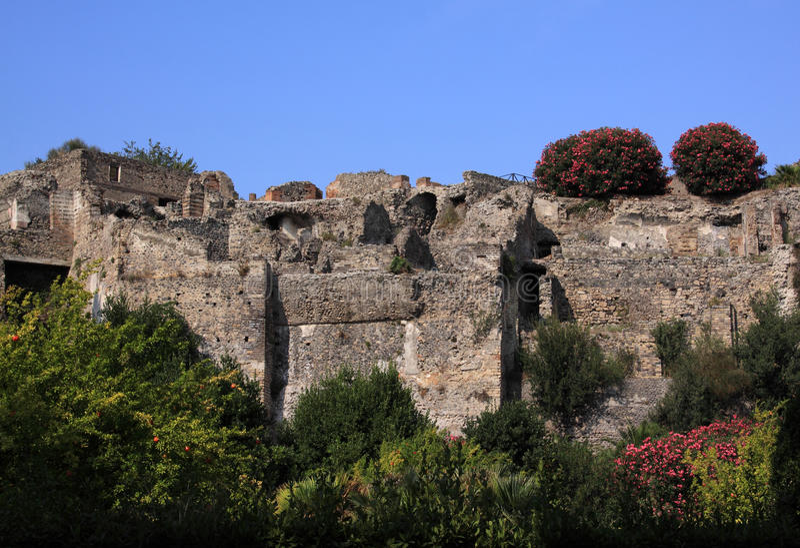 italy blisko rzymskich Pompeii ruin Naples zdjęcia royalty free