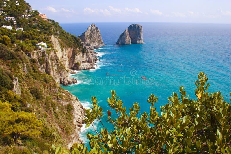 Italy Capri Island royalty free stock image