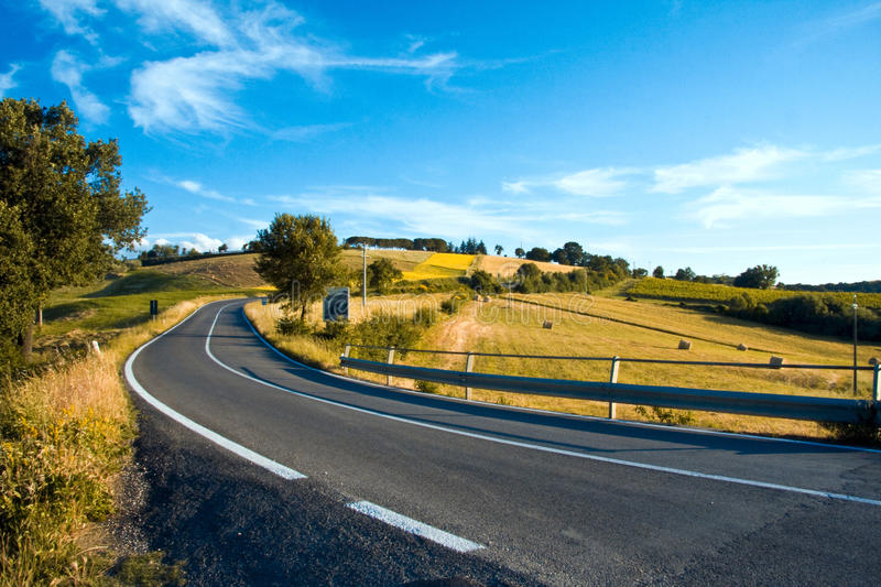 Italy by car stock image