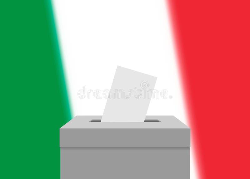 Election banner background stock illustration