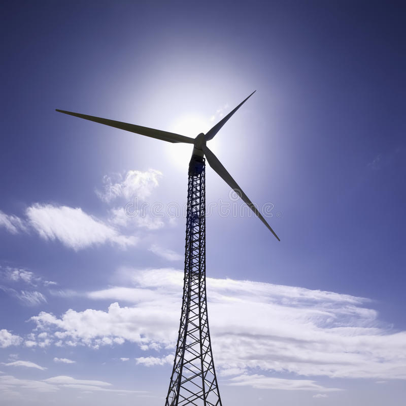 Free Italy, Eolic Energy Turbines Royalty Free Stock Photos - 10189088