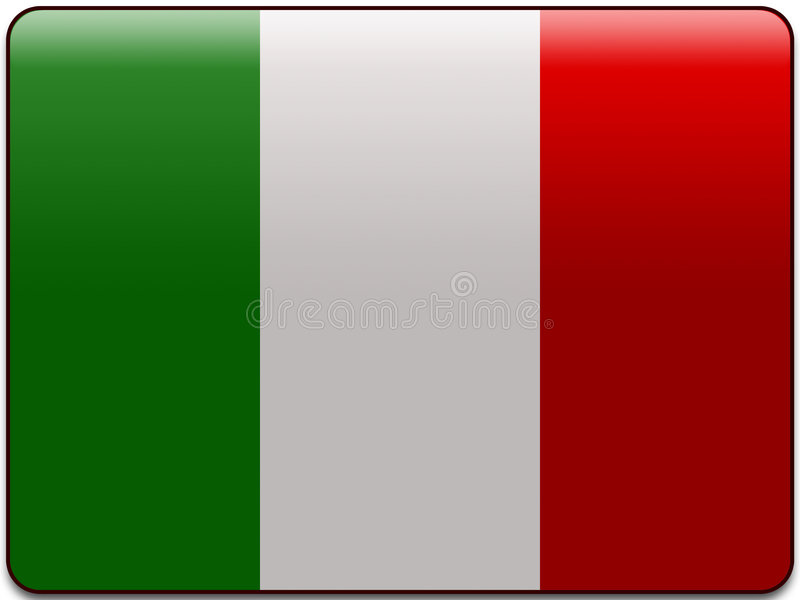 Download Italy flag button stock illustration. Image of icon, constitution - 3671370