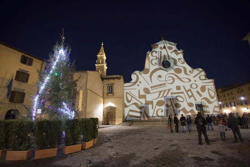 Italy,Florence, the church of Santo Spirito royalty free stock photos
