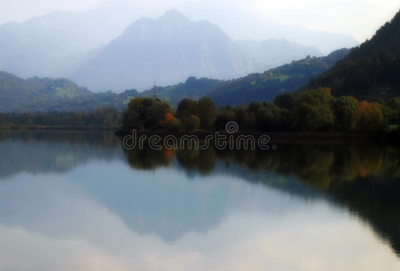 ITALY LAKE ENDINE stock images