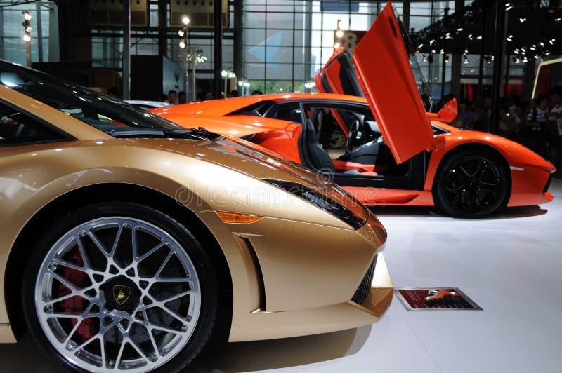 Italy Lamborghini royalty free stock photo