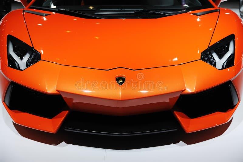 Italy Lamborghini Aventador LP 700-4 stock photography