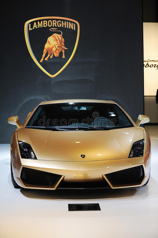 Download Italy Lamborghini Gallardo Lp 560 4 Golden Edition Editorial Stock  Image   Image Of