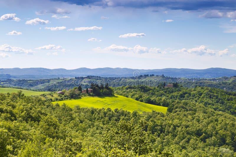 Italy. Landscapes Of Tuscany stock photo