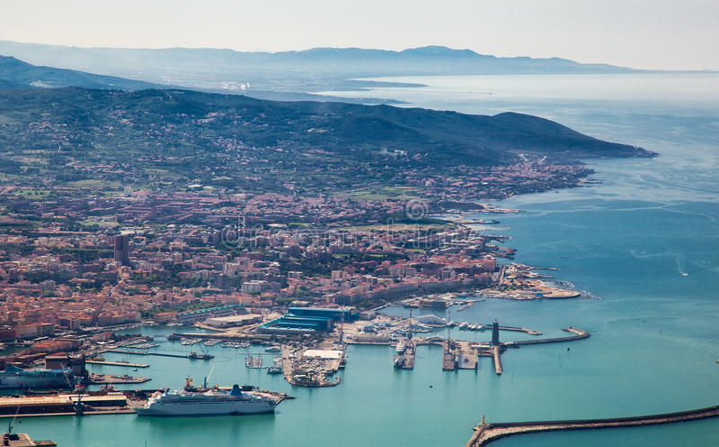 italy Livorno arkivbild