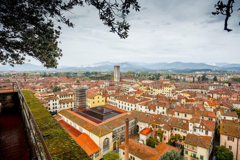 italy Lucca komunalne jeden Moscow panoramiczny widok fotografia stock
