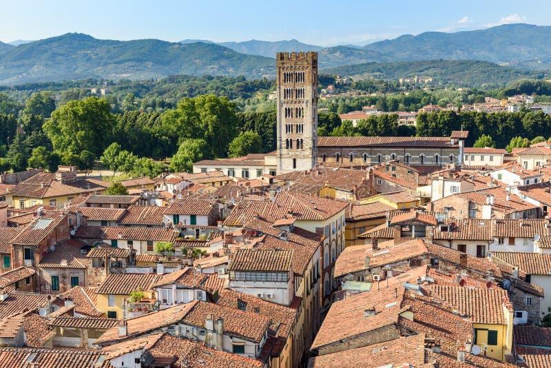 italy lucca tuscany arkivbilder