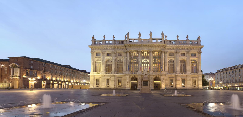 italy madama palazzo Turin fotografia royalty free