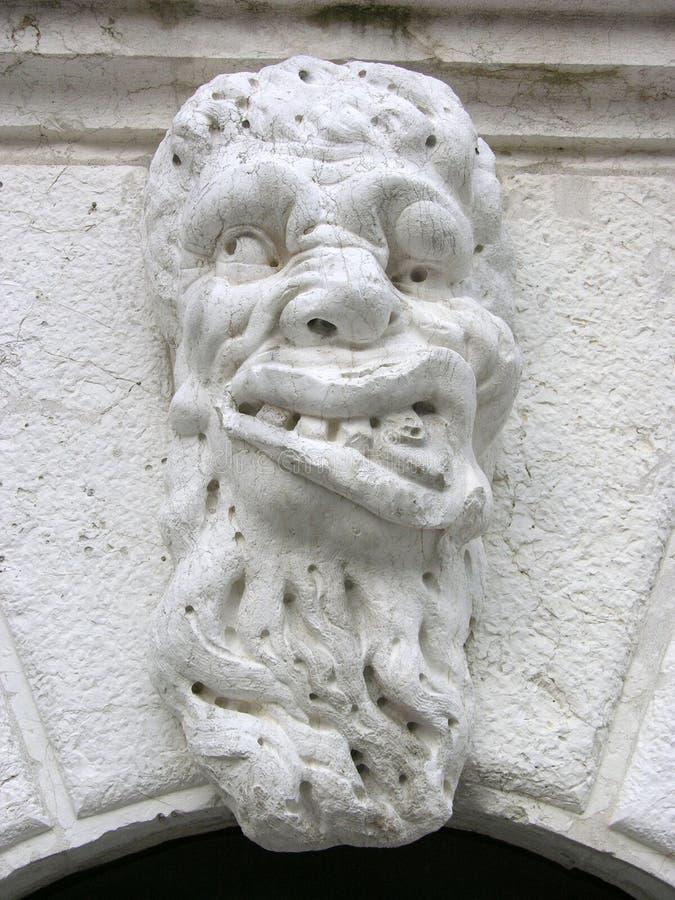 italy monster venice arkivfoto