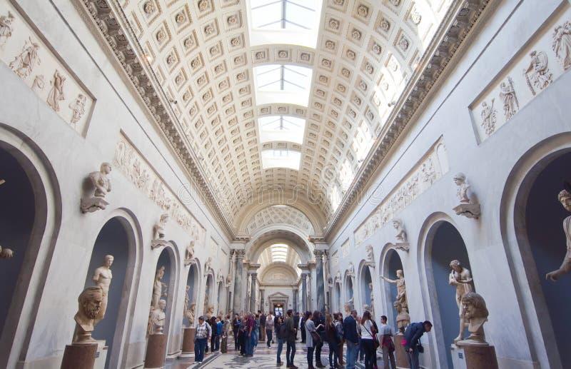 italy museer rome vatican arkivbilder