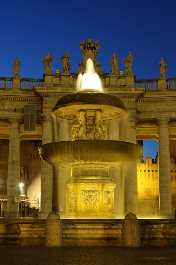 italy natt roma arkivbild