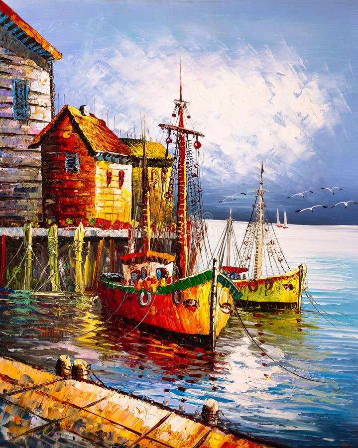 italy obraz olejny Venice zdjęcie royalty free