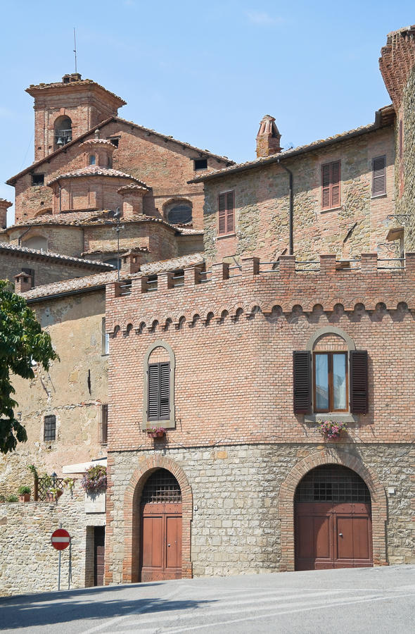 italy panicale Umbria obrazy royalty free
