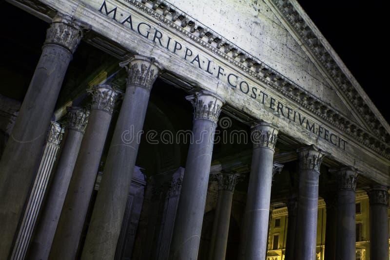 italy panteon Rome zdjęcia stock