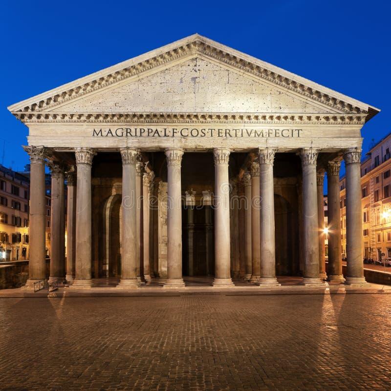 italy panteon Rome fotografia stock