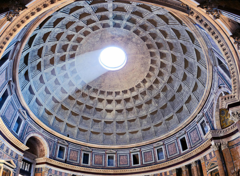 italy panteon Rome fotografia royalty free