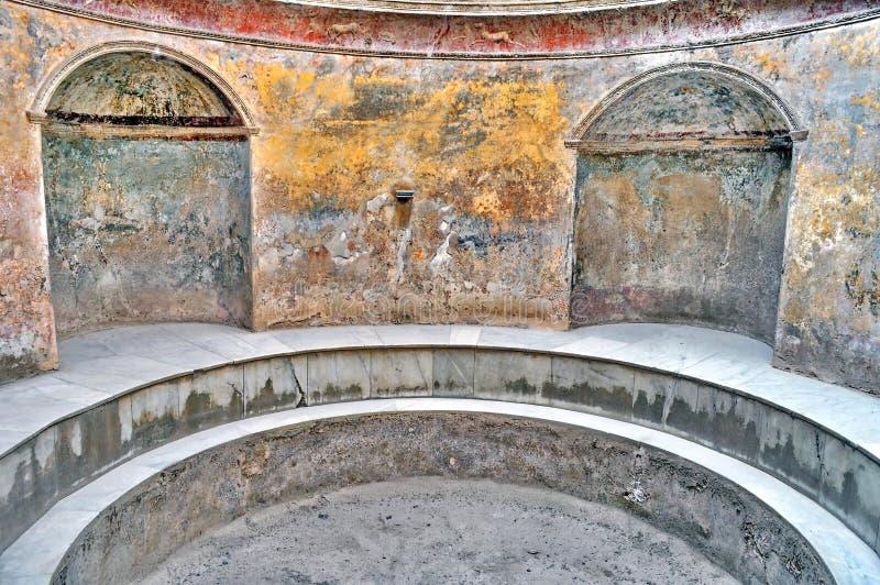 italy pompeii royaltyfri fotografi
