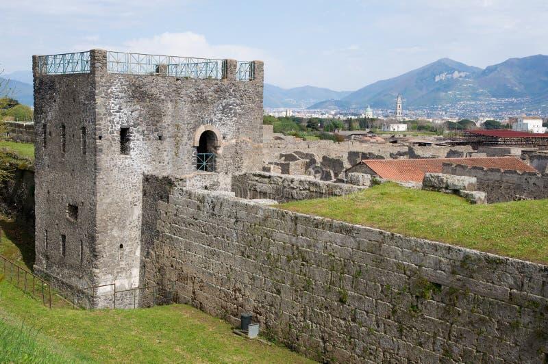 Italy, Pompeii royalty free stock images