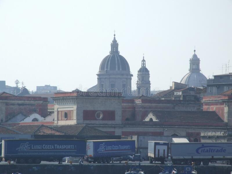 Italy Porto di Catania - Creative Commons by gnuckx royalty free stock images