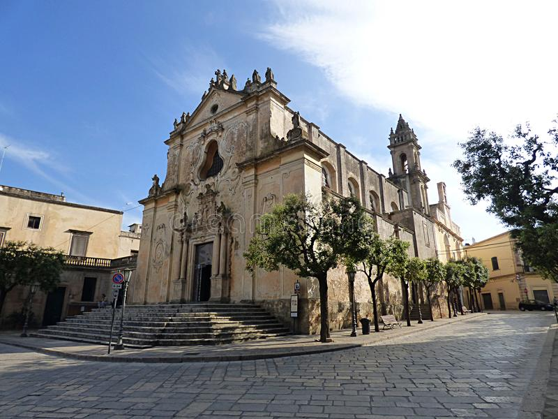 Italy, Puglia, Lecce, Tricase, Church of San Domenico and Dominican Convent of the SS. Peter and Paul. Puglia, Lecce, Tricase, Church of San Domenico and stock images