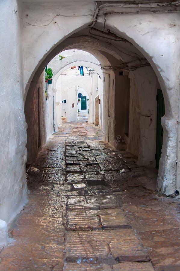 Italy Puglia Ostuni royalty free stock image