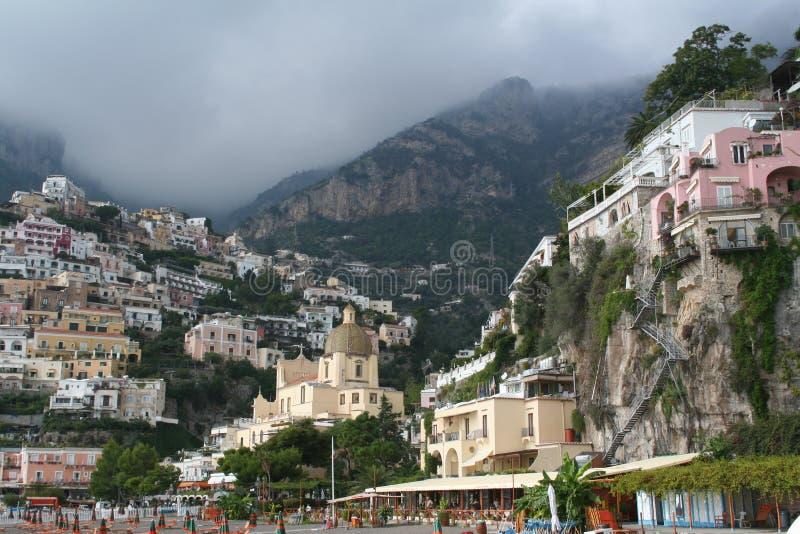Italy. Recurso de Positano fotografia de stock