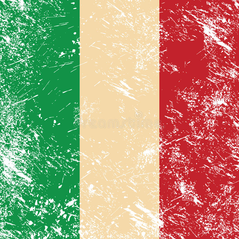 Download Italy retro flag stock vector. Image of fashioned, pizza - 25829836