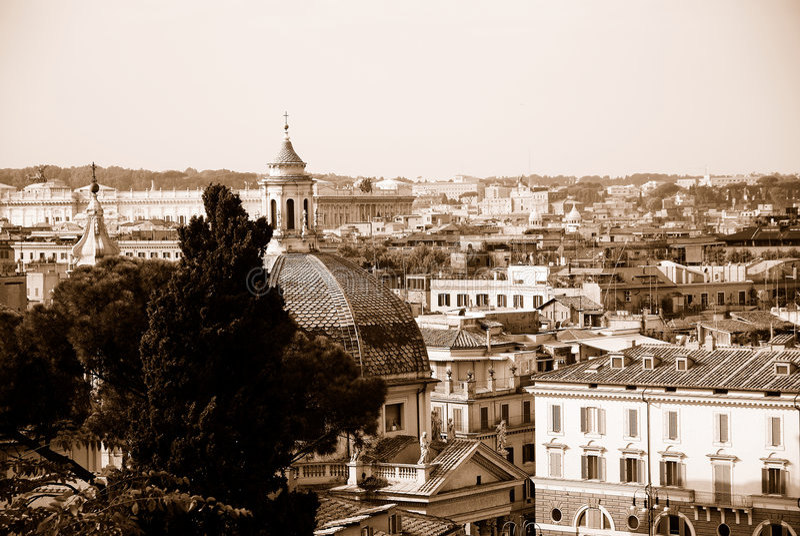 italy rome royaltyfria foton