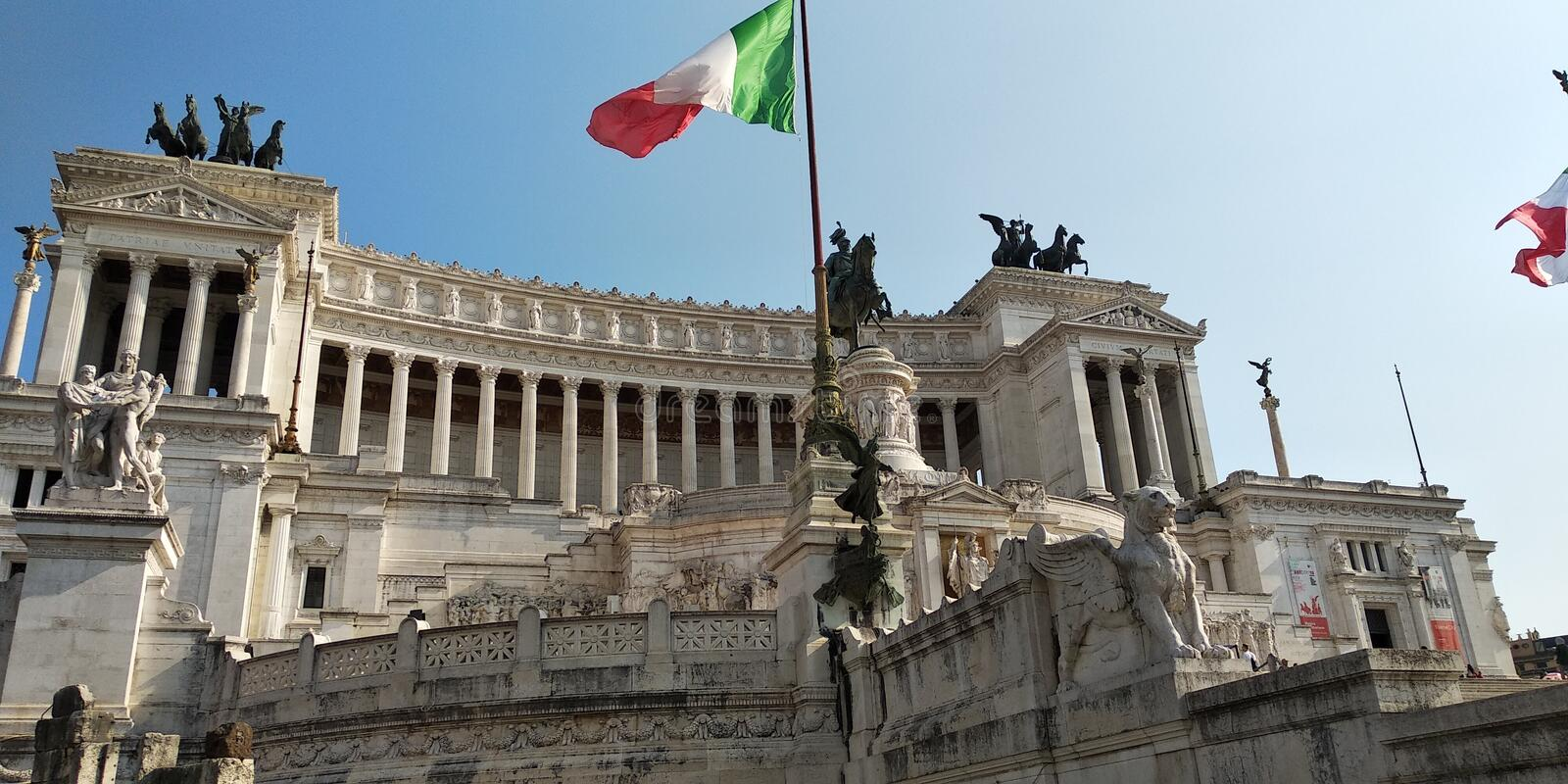 Italy, Rome. Architecture, monument, sky royalty free stock photo
