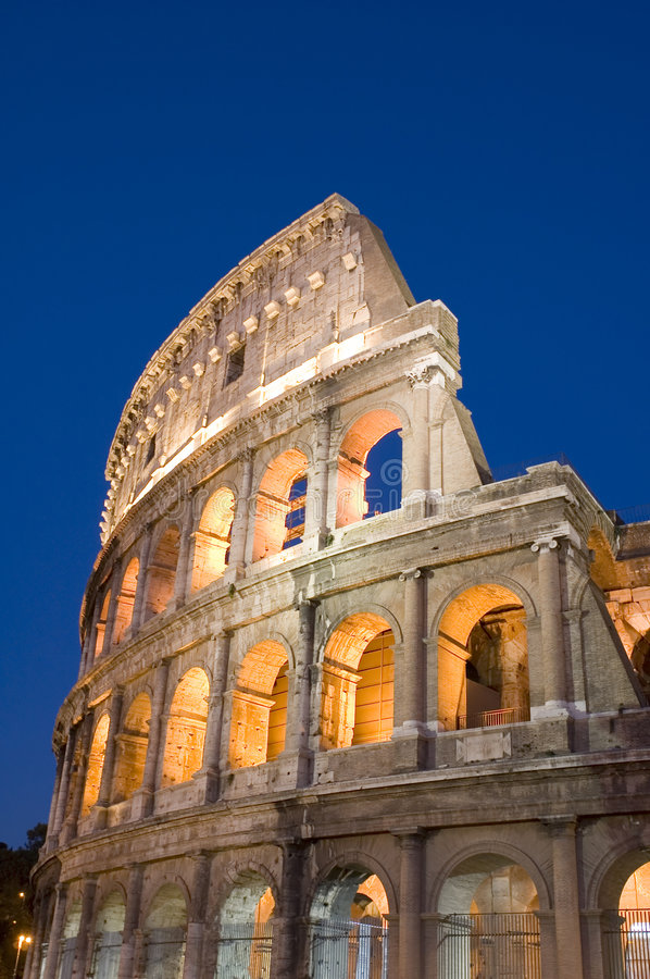 Italy Rome Coliseum. Italy Older amphitheater - Coliseum in Rome royalty free stock image