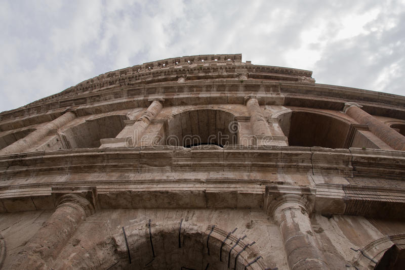 Italy, Rome, Coliseum, architecture,building,Constructions stock photography