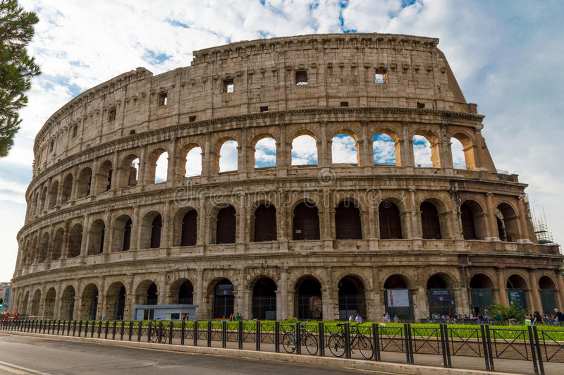 Italy Rome Colosseum royalty free stock image