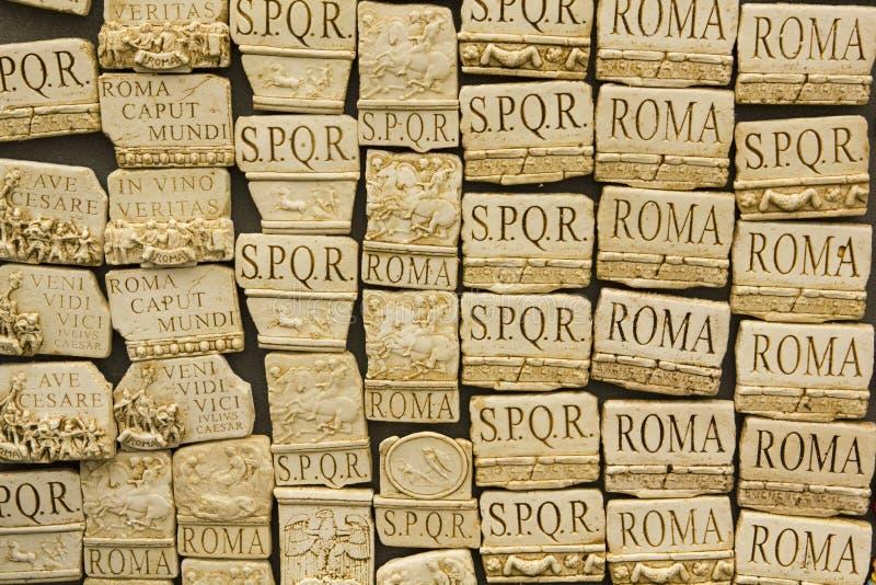 italy rome souvenir fotografering för bildbyråer