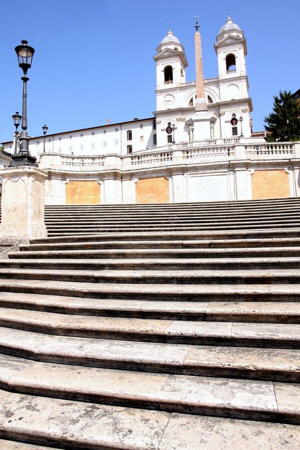 italy Rome spanish kroki zdjęcie royalty free