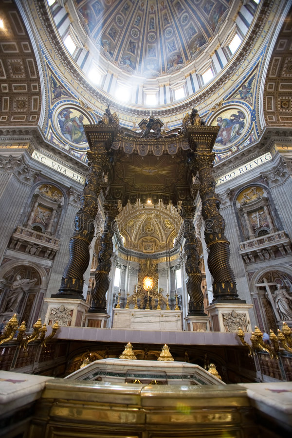 Free Italy, Rome, St. Peter�s Cathedral Stock Image - 5274911
