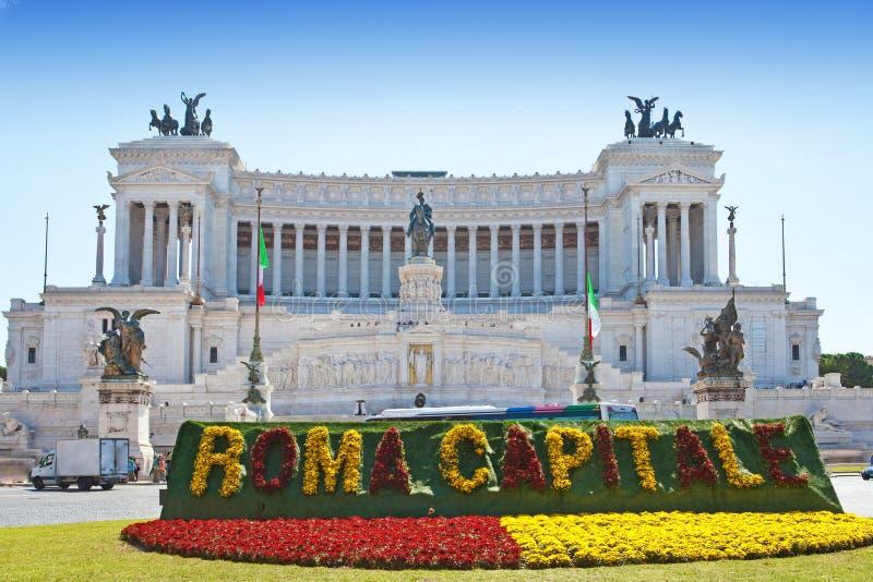 italy rome vittoriano arkivfoto