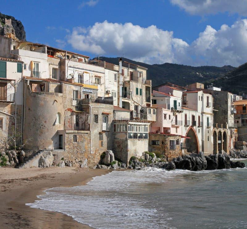 Italy. Sicily island . Province of Palermo. Cefalu. Italy. Sicily island . Province of Palermo. View of Cefalu royalty free stock photo